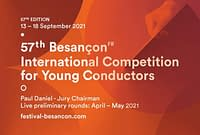 57th Besançon International Competition for Young Conductors 2021
