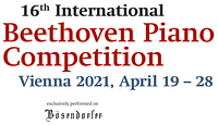International Beethoven Piano Competition Vienna 2021