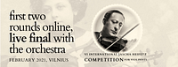 International Jascha Heifetz Competition for Violinists 2021