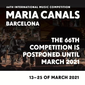 Maria Canals International Piano Music Competition