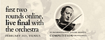 VI International Jascha Heifetz Competition for Violinists